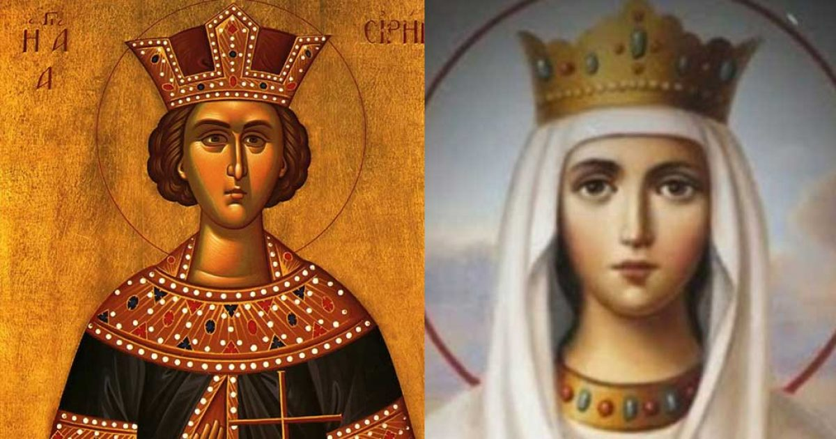 Αγία Ειρήνη: Η πριγκίπισσα που την έλεγαν Πηνελόπη την έριξαν στην πυρά και την αποκεφάλισαν