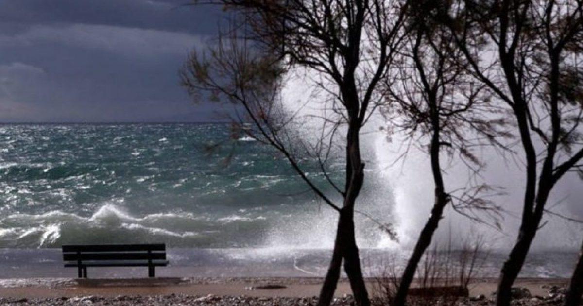 Έκτακτο δελτίο για θυελλώδεις Ανέμους εξέδωσε η ΕΜΥ. Δείτε που Δεν θα μπορούμε να πλησιάσουμε για Μπάνιο
