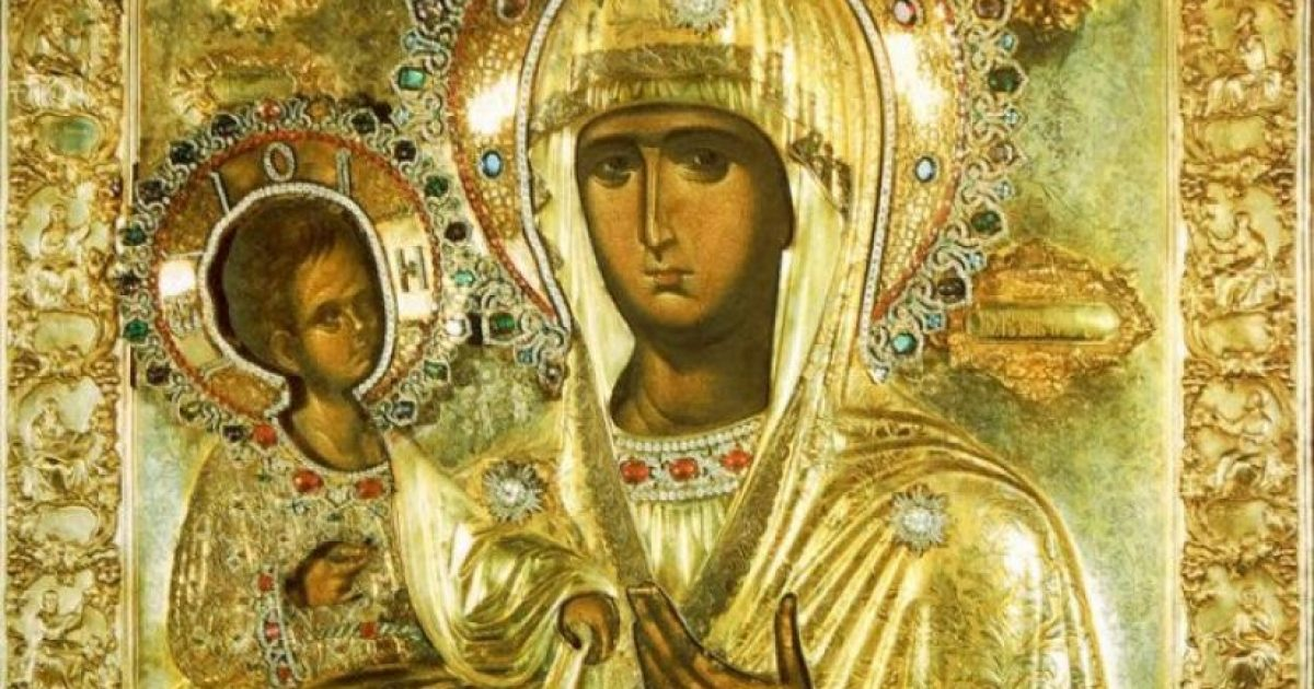 Παναγία Τριχερούσα: Η θαυματουργή εικόνα του Αγίου Όρους