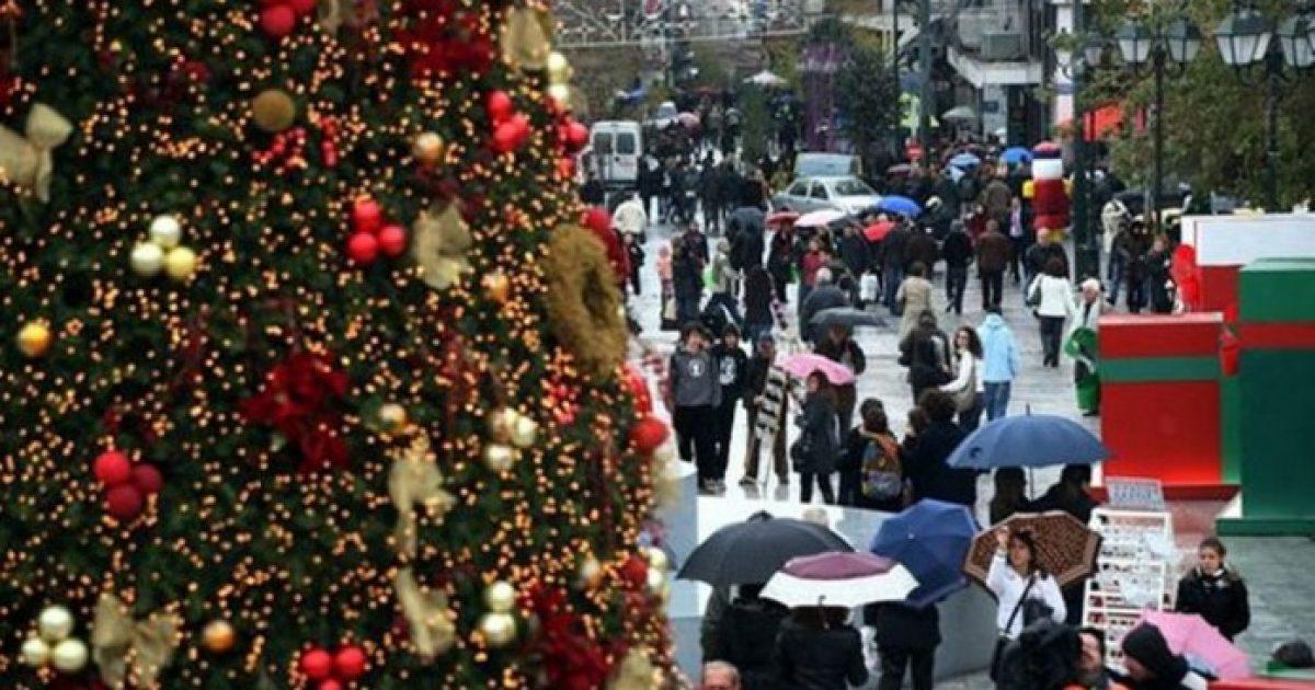 Εορταστικό ωράριο Χριστούγεννα 2018: Ποιες ώρες ανοιχτά καταστήματα, ποιες Κυριακές. Αλλαγές