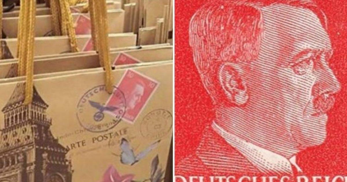 Jumbo: Αποσύρονται μετά την κατακραυγή οι σακούλες με τον… Χίτλερ