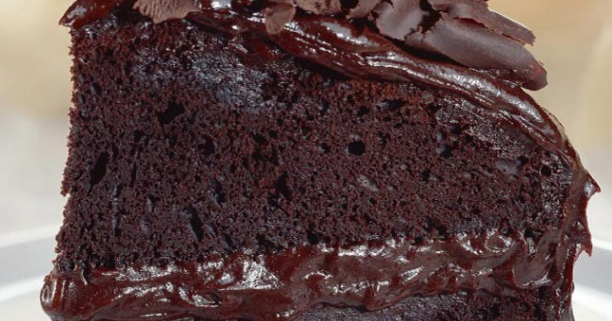 Σοκολατένιο κέικ με κρέμα!