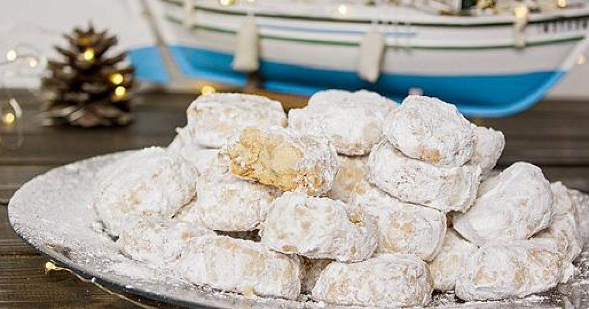 Φτιάξτε λαχταριστούς κουραμπιέδες «ζαχαροπλαστείου» σε 5 απλά βήματα