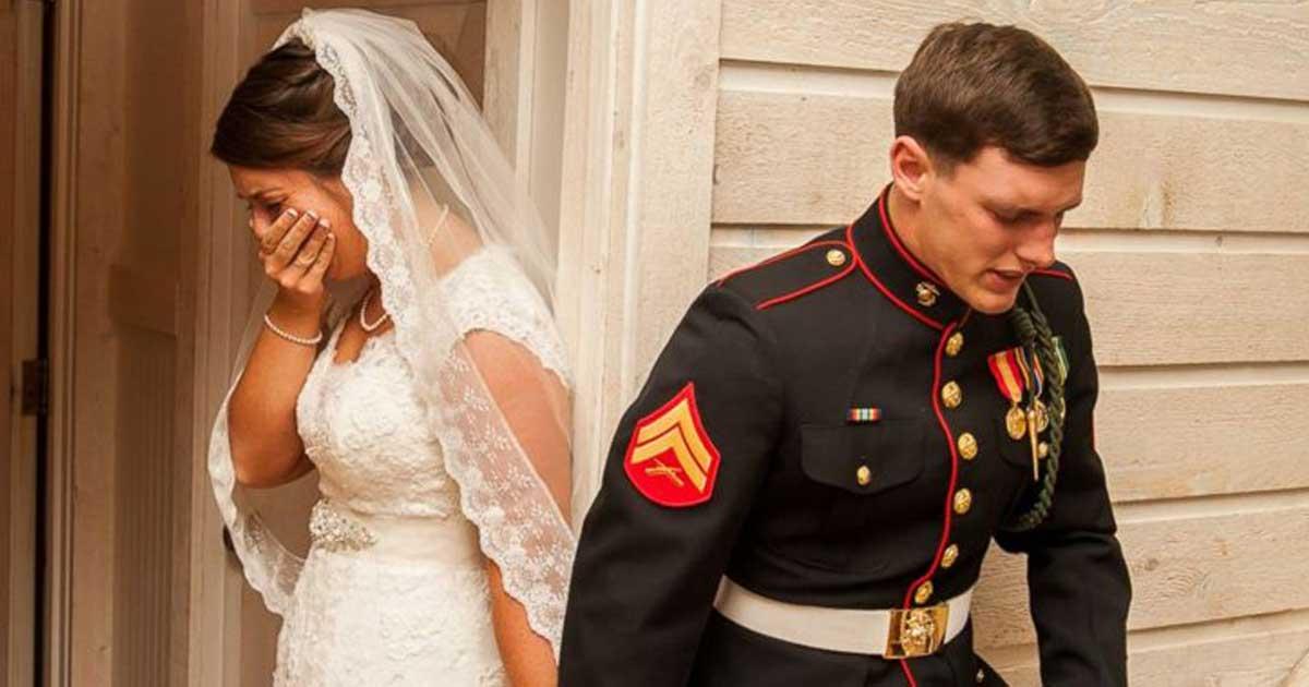 Η φωτογραφία γάμου που σκόρπισε συγκίνηση στο διαδίκτυο παγκοσμίως