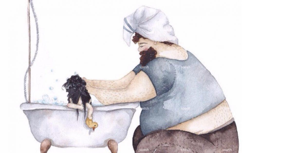 20 σκίτσα που δείχνουν την τρυφερή σχέση πατέρα και κόρης.