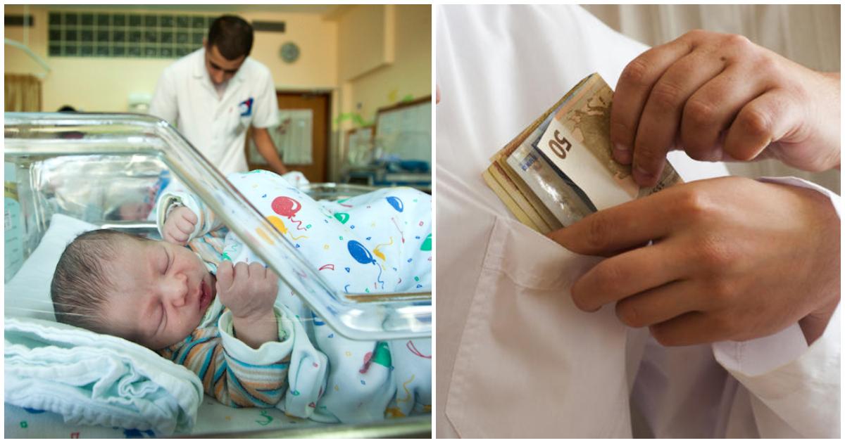 Πάτρα: Μαιευτήρας ζητούσε φακελάκι 1000 ευρώ για κάθε κιλό του μωρού και προκαλεί οργισμένες αντιδράσεις