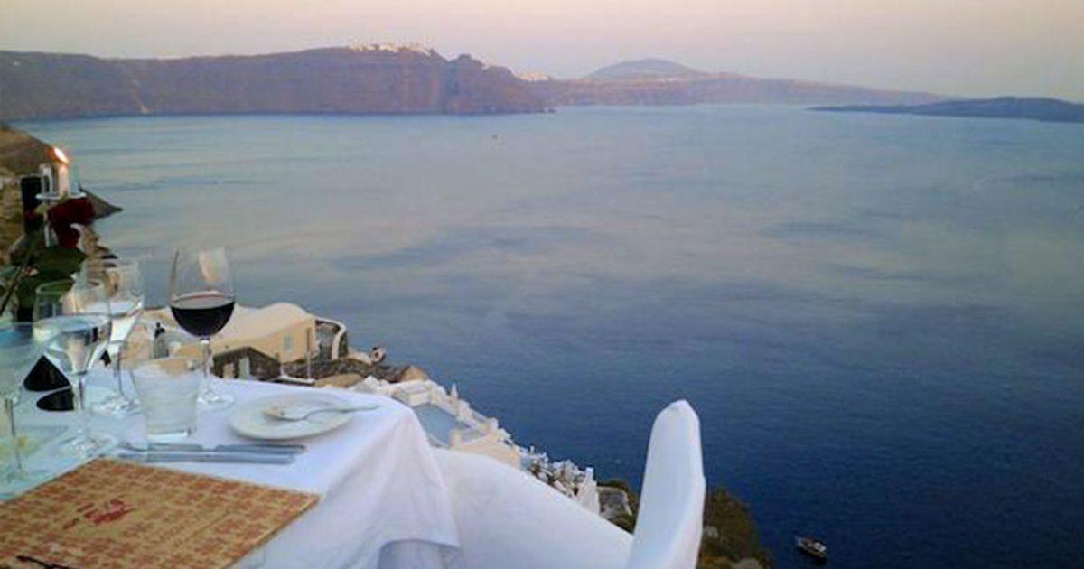 Τα εστιατόρια με την ομορφότερη θέα στον κόσμο. Ανάμεσα τους ένα και στην Ελλάδα!