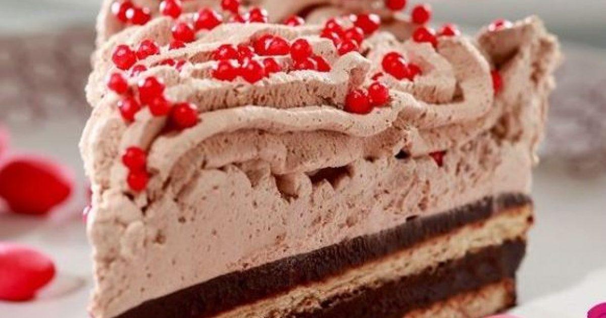 Δροσερό σοκολατένιο μπισκοτογλυκό ψυγείου