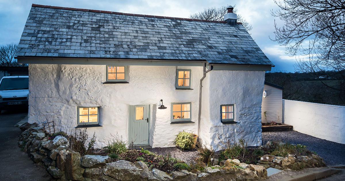 Αυτό το σπίτι είναι 300 ετών αλλά όταν δείτε το εσωτερικό του θα εκπλαγείτε