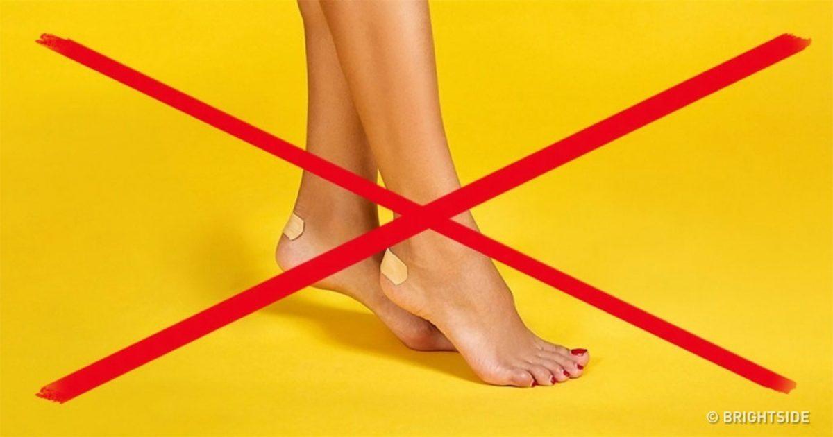 10 εγγυημένοι τρόποι για να μην σας χτυπάνε τα αγαπημένα σας παπούτσια