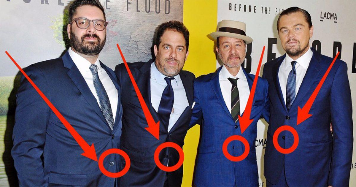 Αυτός είναι ο περίεργος λόγος που οι άντρες δεν πρέπει να κουμπώνουν το τελευταίο κουμπί του σακακιού