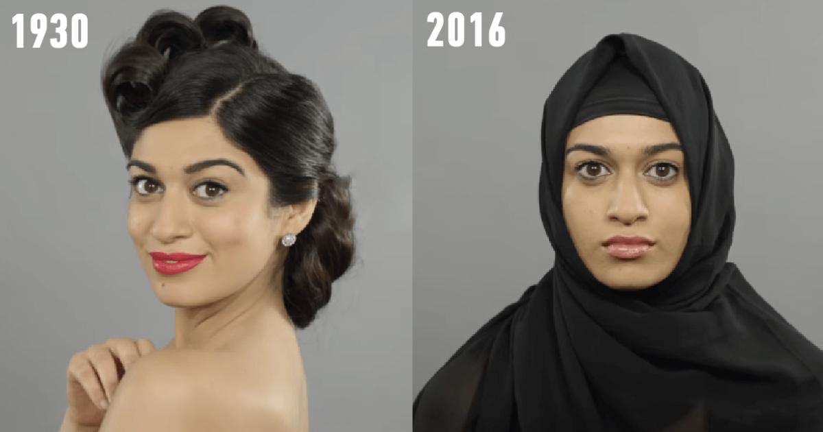 100 χρόνια Συριακής ομορφιάς σε ένα βίντεο ενός λεπτού.