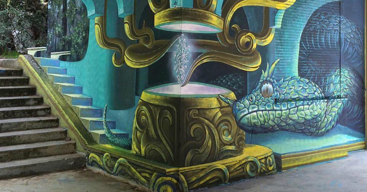 Tο γκράφιτι στο Πολυτεχνείο που μιλάει όλη η Αθήνα