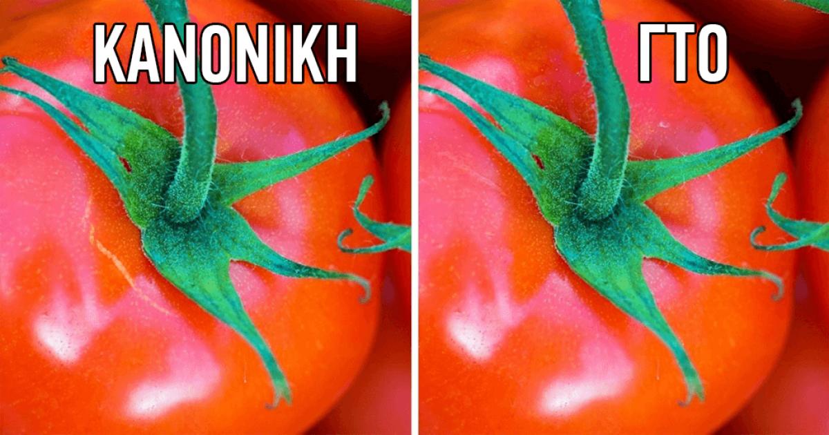 3 απλοί τρόποι να ξεχωρίσετε τα οργανικά από τα μεταλλαγμένα τρόφιμα
