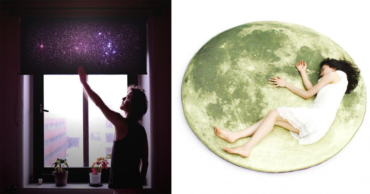 20 πρωτότυπα αντικείμενα και ιδέες διακόσμησης για λάτρεις του διαστήματος