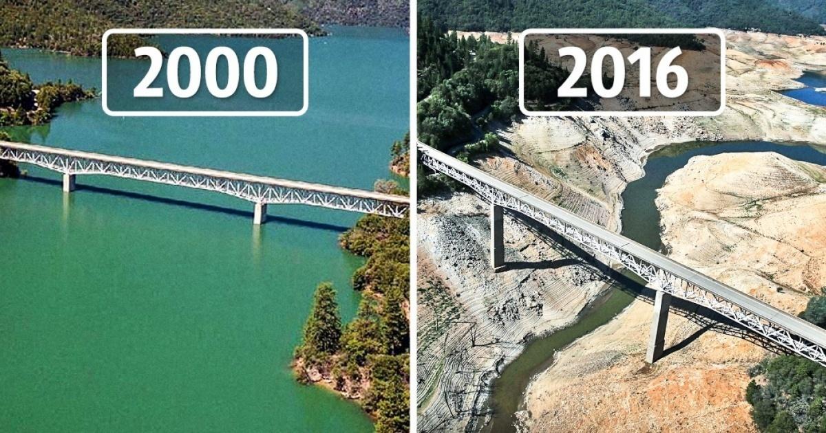 H Γη πριν και μετά τις δραματικές αλλαγές του κλίματος μέσα από εικόνες της ΝASA