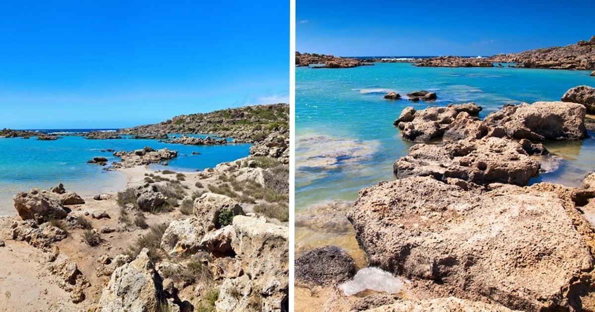 Η «Άσπρη Λίμνη» της Κρήτης που υπερηφανεύεται ότι είναι μια από τις ωραιότερες του νησιού