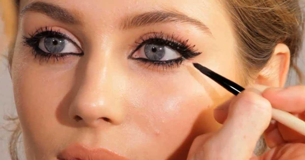 Το μακιγιάζ που κάνει τα μάτια και τα χείλη να δείχνουν μεγαλύτερα!