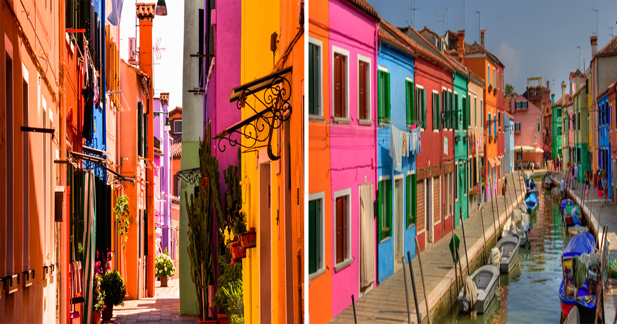Μπουράνο: Το χρωματιστό νησάκι της Ιταλίας είναι η χαρά της ζωής