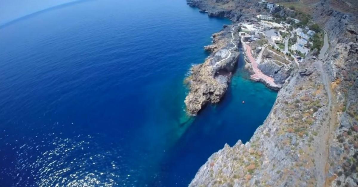 Ένα πειρατικό φιορδ που βρίσκεται κρυμμένο στην Κρήτη
