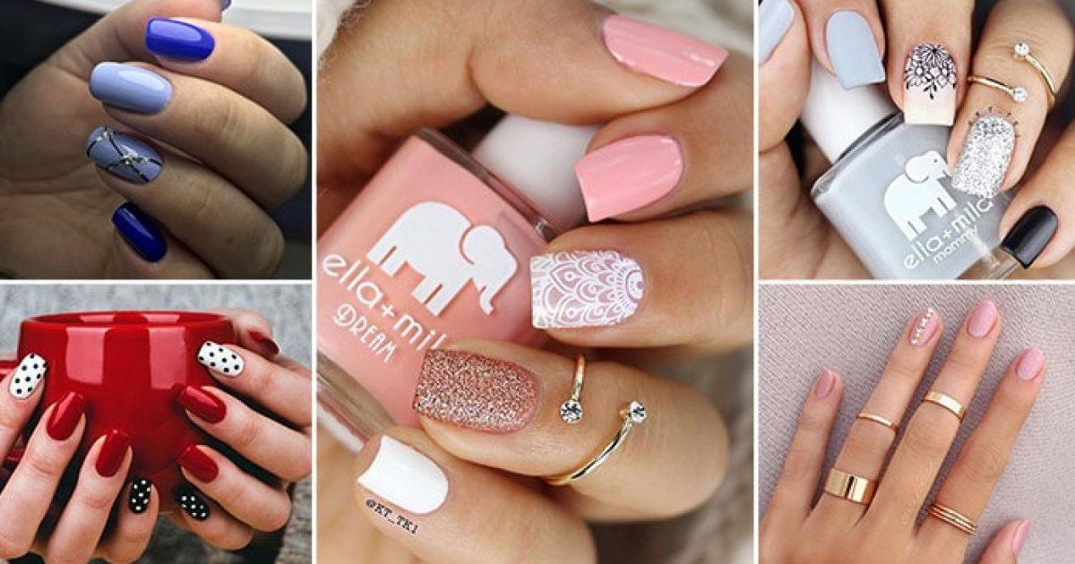 Instagram nails: 55 εντυπωσιακά σχέδια στα νύχια για το επόμενο μανικιούρ