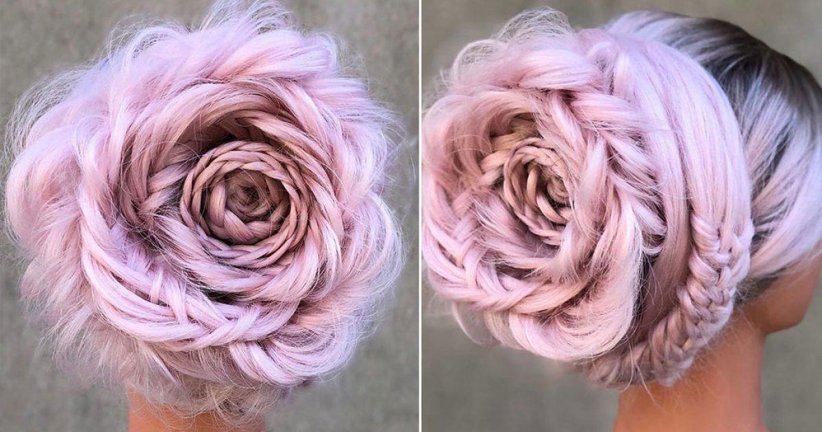 Η πλεξούδα-τριαντάφυλλο είναι η νέα τάση στα μαλλιά που έχει ξετρελάνει τις γυναίκες