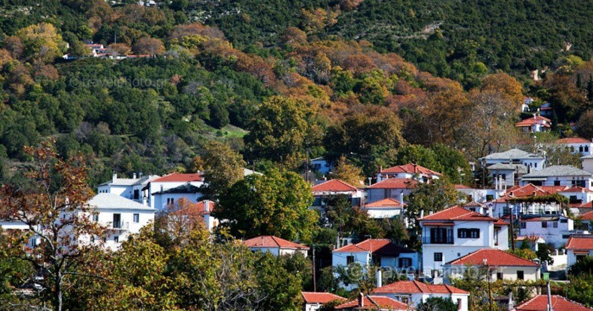Πορταριά: Το χωριό στο Πήλιο που μοιάζει με ανθισμένο μπαλκόνι