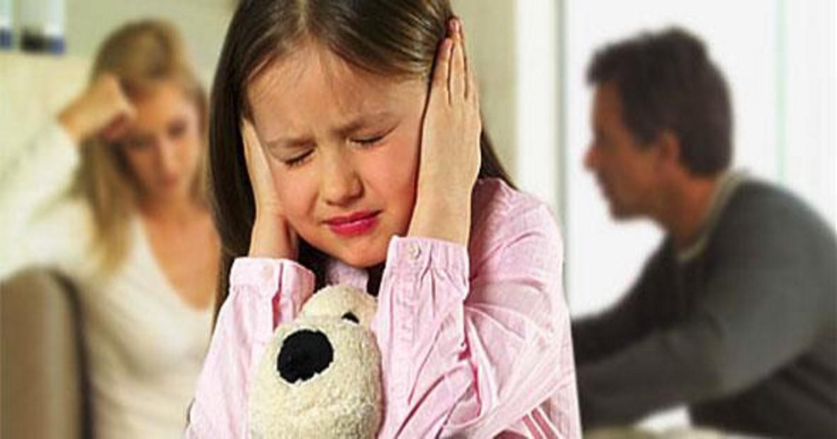 Μια διαλυμένη σχέση βλάπτει τα παιδιά περισσότερο από ένα διαζύγιο!