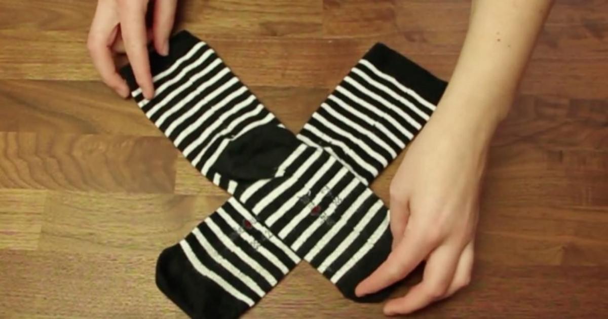 Τόσο καιρό διπλώνουμε τις κάλτσες μας λάθος. Ποιος είναι ο σωστός τρόπος;