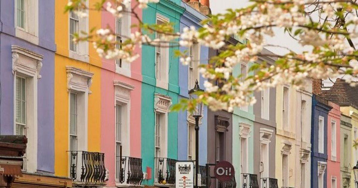 Νότινγκ Χιλ, η πιο πολύχρωμη συνοικία του Λονδίνου