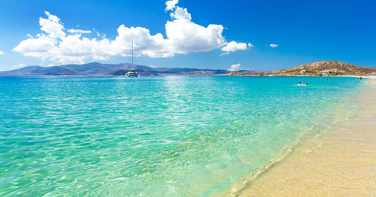 Νάξος, το ελληνικό νησί με τις ατελείωτες αμμουδιές