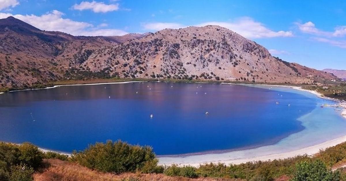 Λίμνη Κουρνά, η πανέμορφη φυσική λίμνη των θρύλων στην Κρήτη