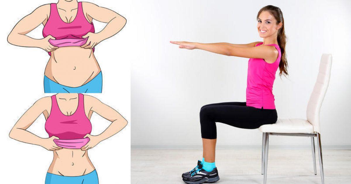 5 ασκήσεις για τις οποίες χρειάζεσαι μόνο μια καρέκλα και θα διώξουν το λίπος από την κοιλιά