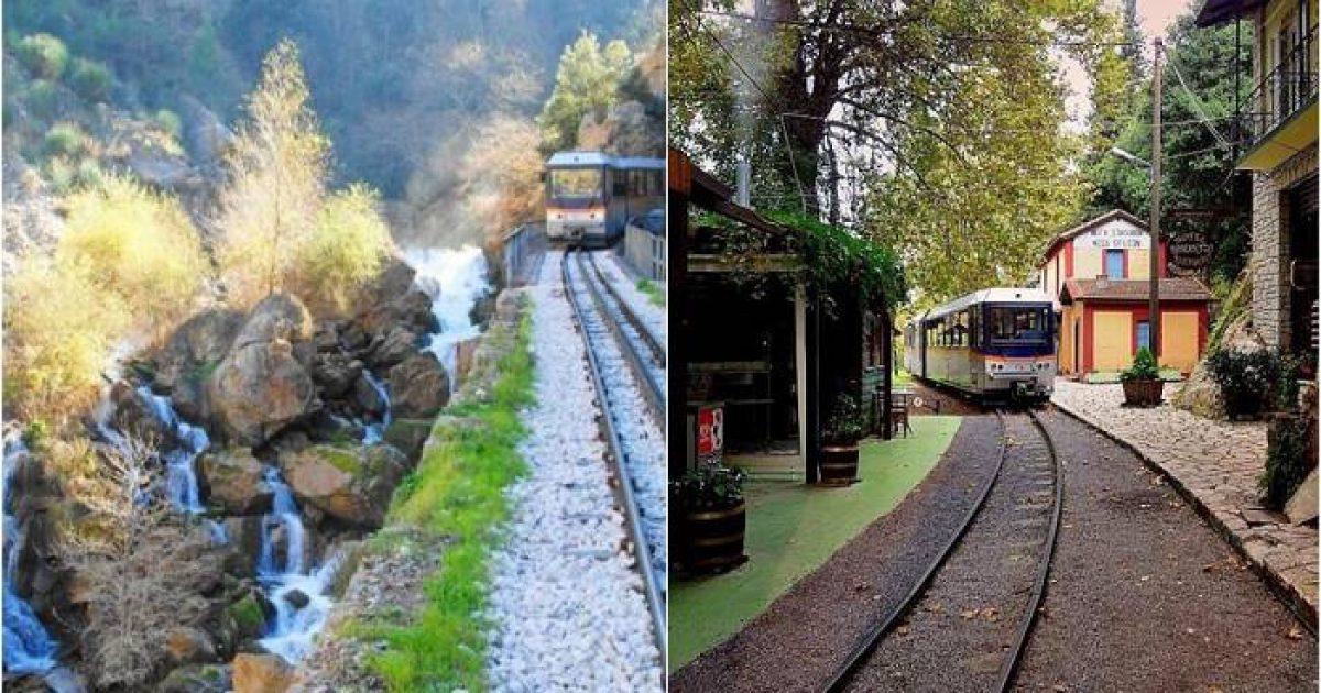 Ζαχλωρού: Ένα χωριουδάκι-κόσμημα και ένα τρένο που κάνει την πιο όμορφη διαδρομή