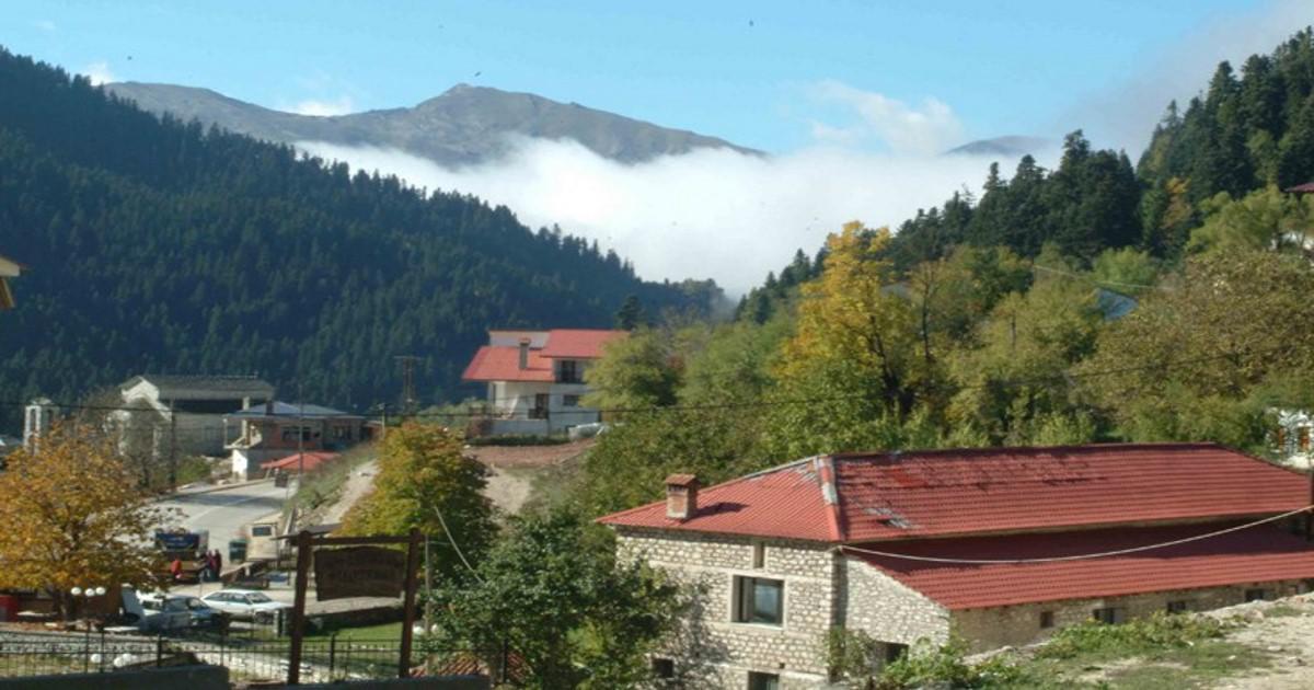 Περτούλι, ένας ορεινός παράδεισος χτισμένος σε μια καταπράσινη βουνοπλαγιά