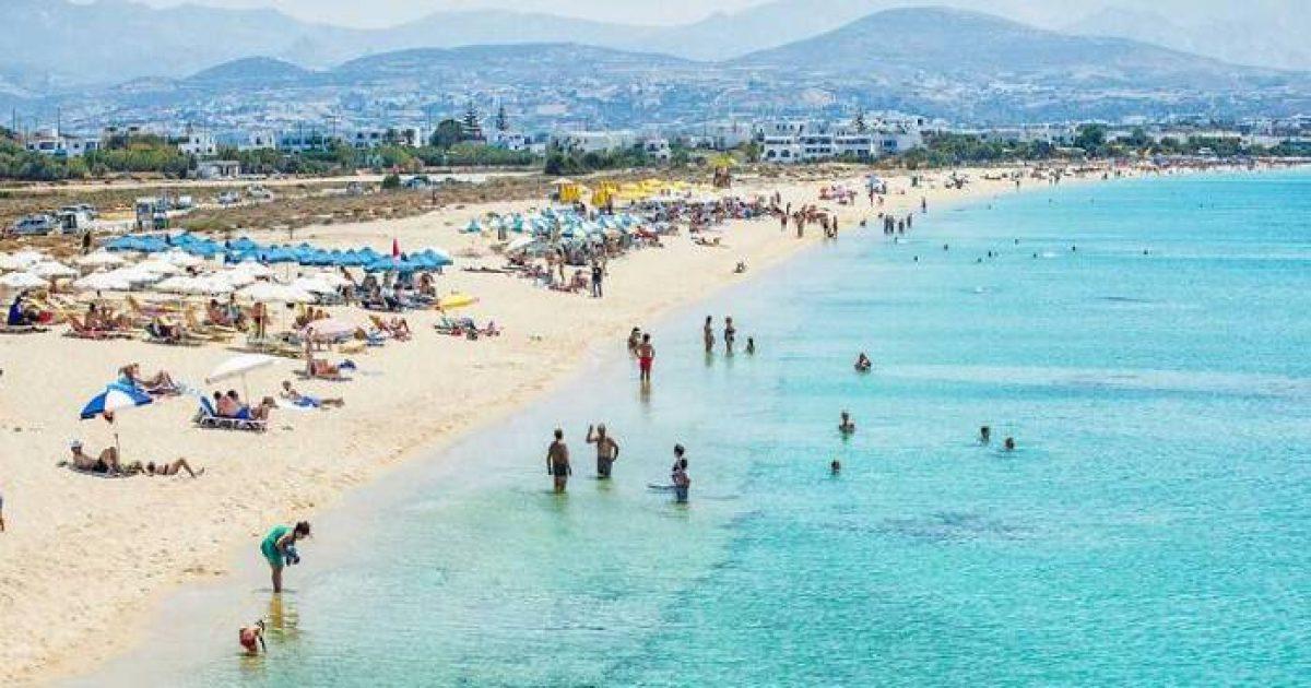 Άγιος Προκόπιος: H 1,5 χιλιόμετρο παραλία με την χρυσή αμμουδία