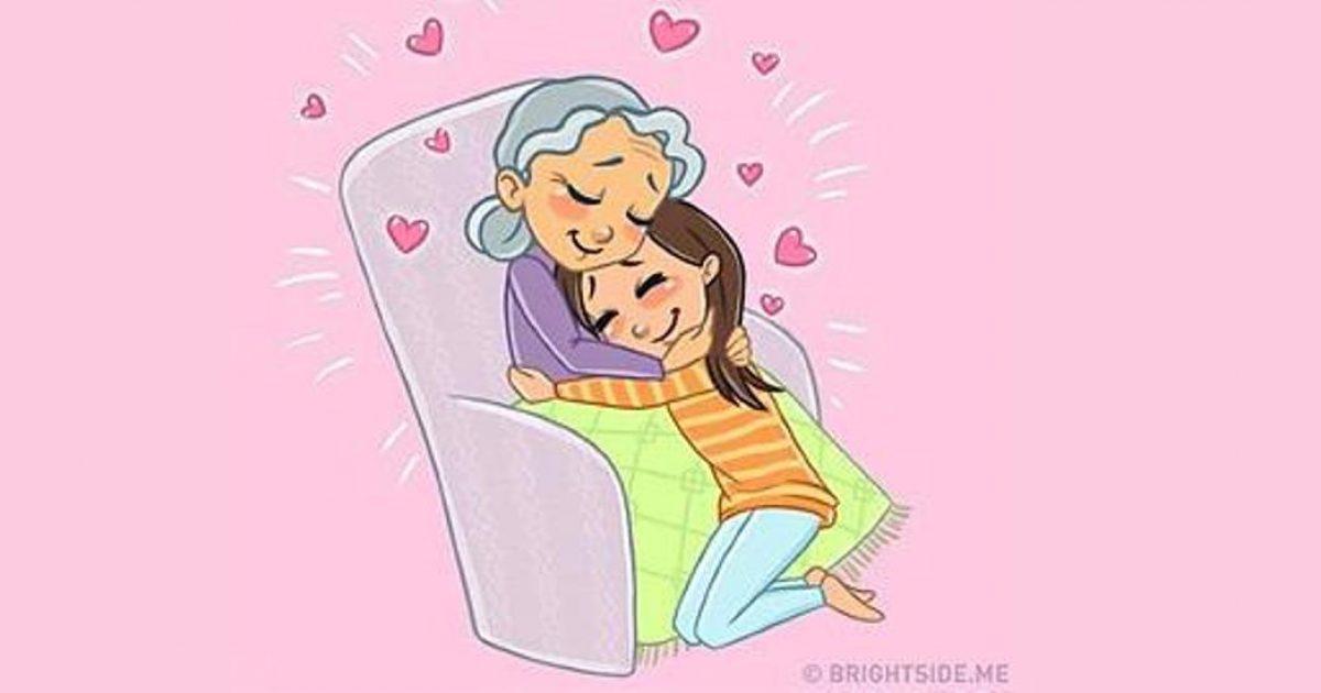Γιαγιά, σε λατρεύω γιατί…