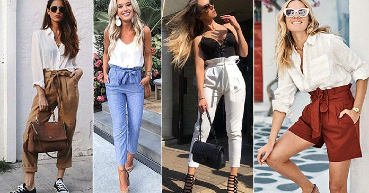 Οι πιο στυλάτοι τρόποι για να φορέσεις ένα paper bag παντελόνι ή σορτς