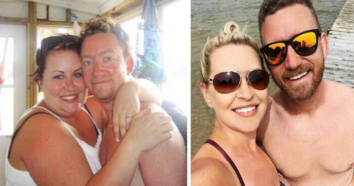 Κατάφεραν να χάσουν μαζί 62 κιλά – Ένα απίθανο ζευγάρι βρήκε το μυστικό να μην ξαναπαχύνει
