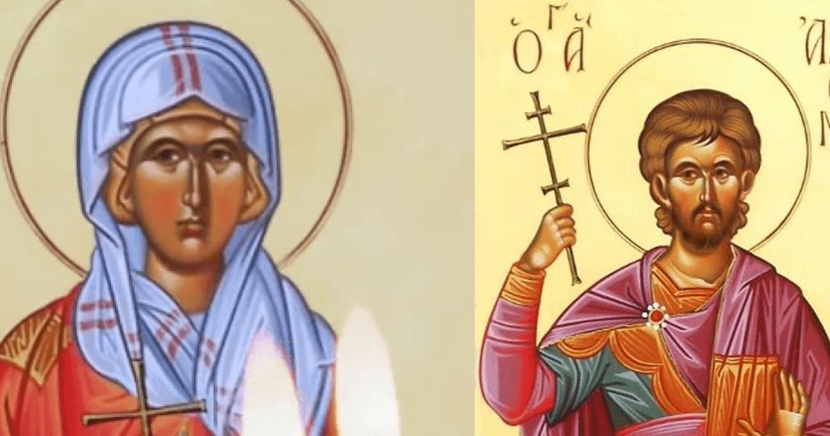 Εορτή 26 Αυγούστου: Άγιοι Αδριανός και Ναταλία